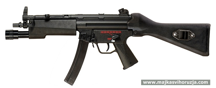 Heckler & Koch MP5A2 SWAT version