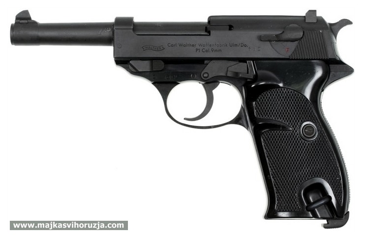 Walther P38 P1 post-war model