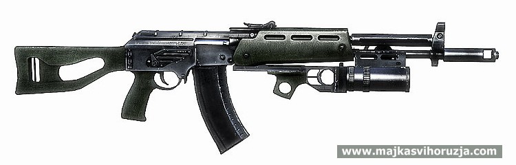 AEK-971 from Battlefield Bad Company 2