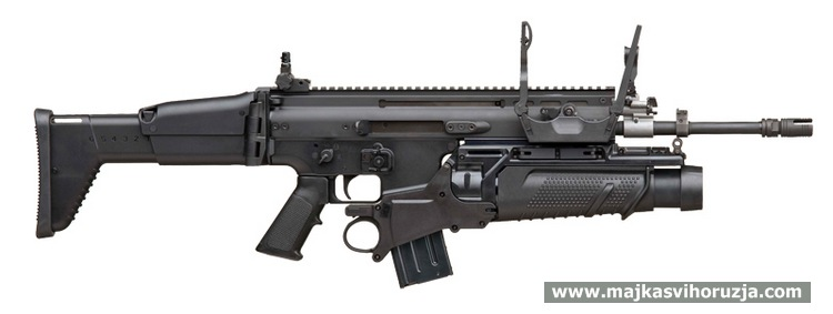 FN SCAR with grenade launcher