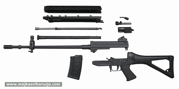 Swiss Arms SG 550 - parts