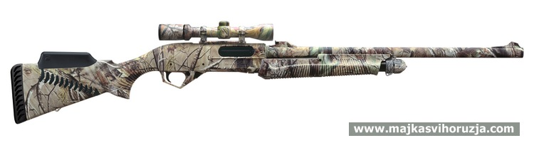 Benelli SuperNova Slug Gun with optional scope