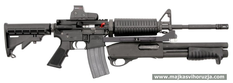 Remington 870 MCS Accessory Weapon for M4