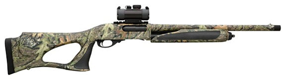 Remington 870 MCS hunting turkey