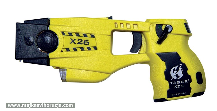 TASER X26 - yellow color