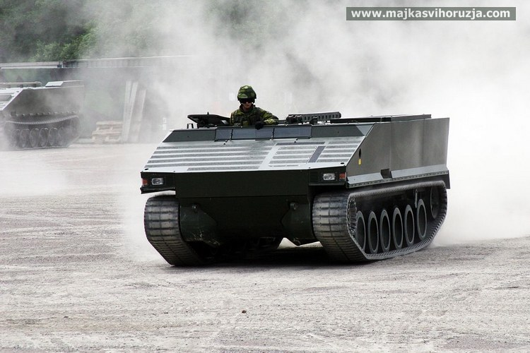 SEP tracked vehicle